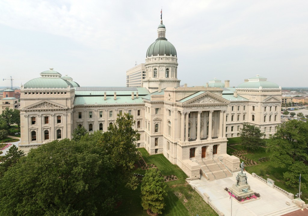 Indiana State Capitol, Source: David Schwen